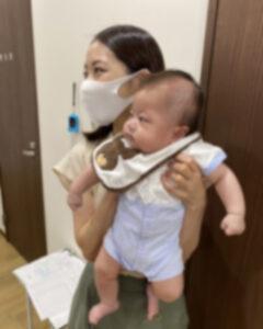 川越の歯医者みらくる歯科クリニック可愛いベイビーの訪問